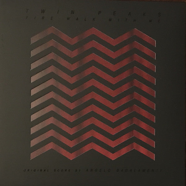 Angelo Badalamenti - Twin Peaks Fire Come Walk With Me OST LP Red/Black Marbled Vinyl