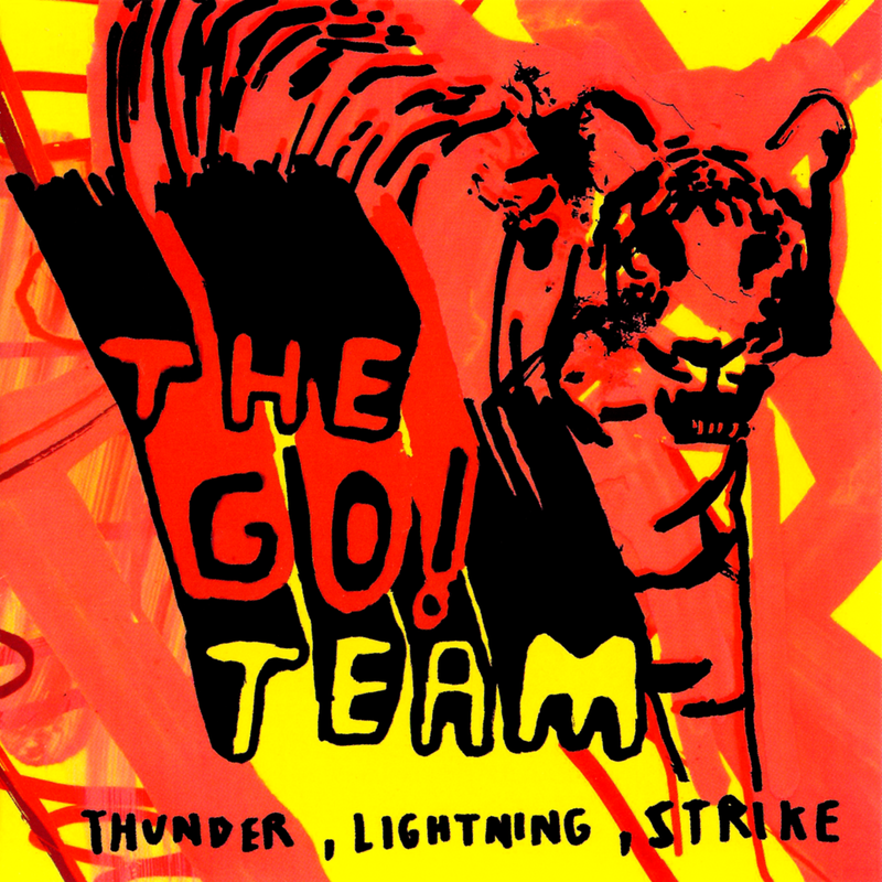 Go Team - Thunder Lightning Strike CD