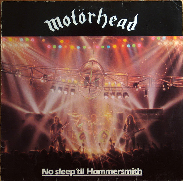 Motorhead - No Sleep 'Til Hammersmith LP