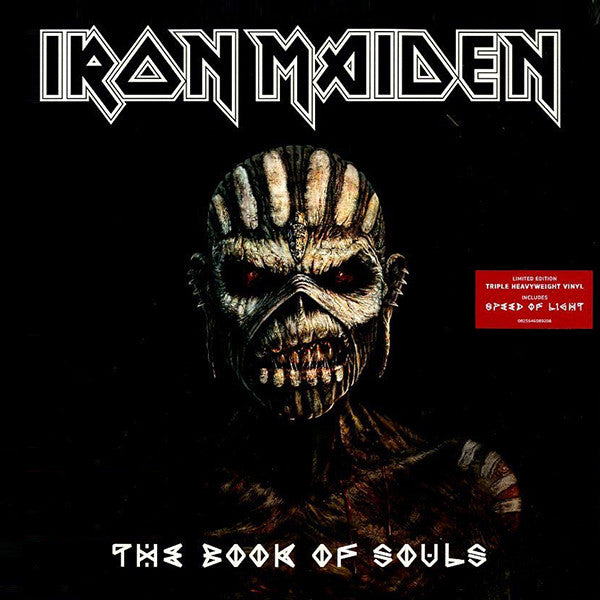 Iron Maiden - Book Of Souls 3LP Limited