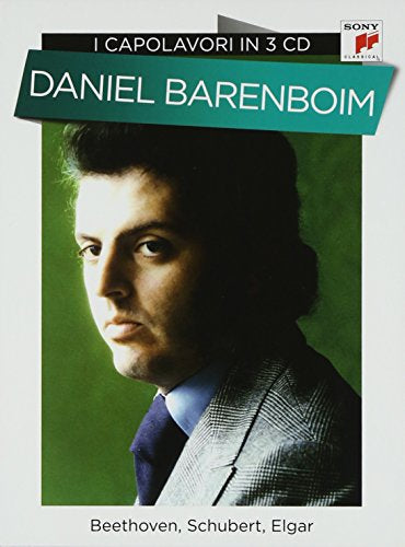 Daniel Barenboim - I Capolavori In 3 CD Beethoven, Schubert, Elgar 3CD Boxset CD