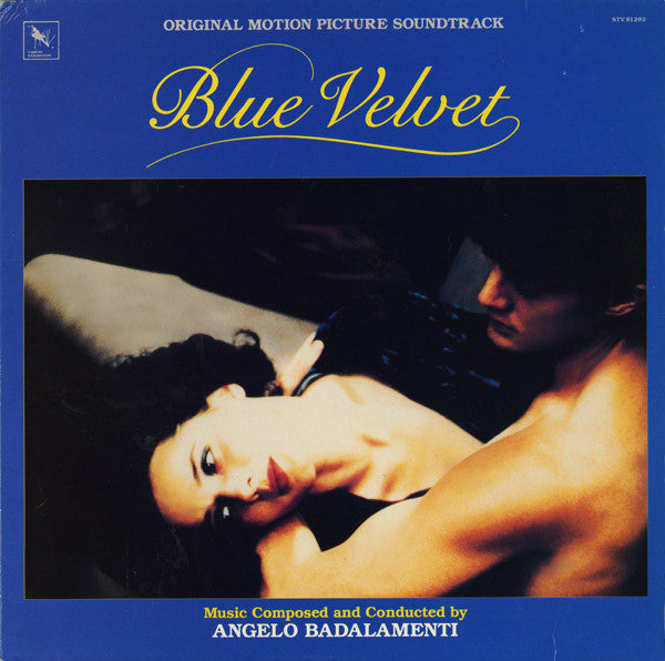 Angelo Badalamenti - Blue Velvet OST LP Blue/Black Split Coloured Vinyl