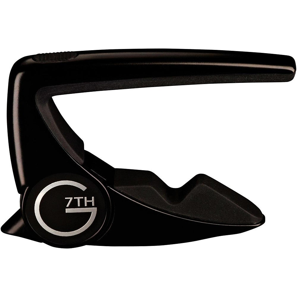 G7TH Performance 2 Steel String Guitar Capo (Black)