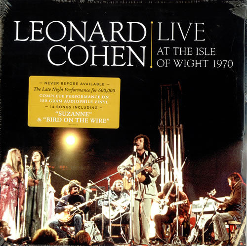 Leonard Cohen - Live At The Isle Of Wight 1970 CD/DVD
