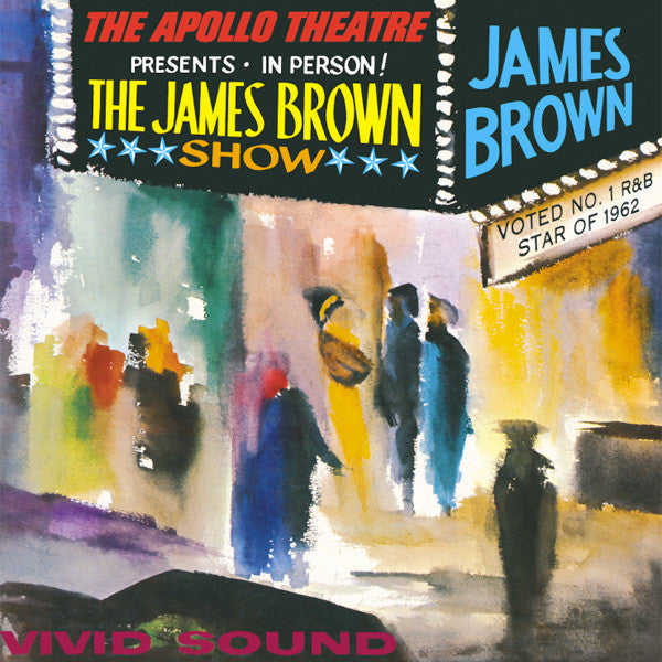 James Brown - Live At The Apollo (1962) CD