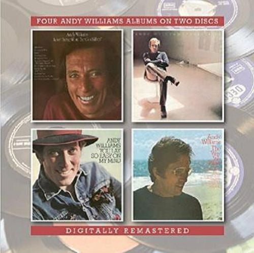 "Andy Williams - Love Theme From ""The Godfather""/Solitaire/The Way We Were/You Lay So Easy On My Mind 2CD"