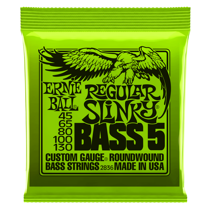 Ernie Ball 2836 5 String Regular Slinky Bass (45-130)