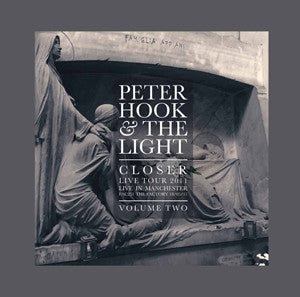 Peter Hook & The Light - Closer Tour 2011 Live In Manchester Vol 2 LP (Grey Vinyl) RSD Exclusive