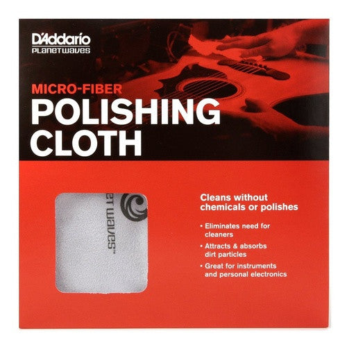 D'Addario Planet Waves PW-MPC Micro-Fiber Polishing Cloth