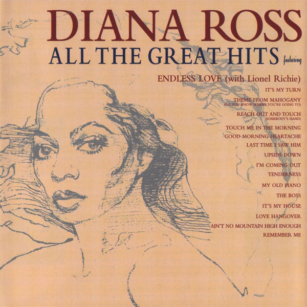 Diana Ross - All The Great Hits CD