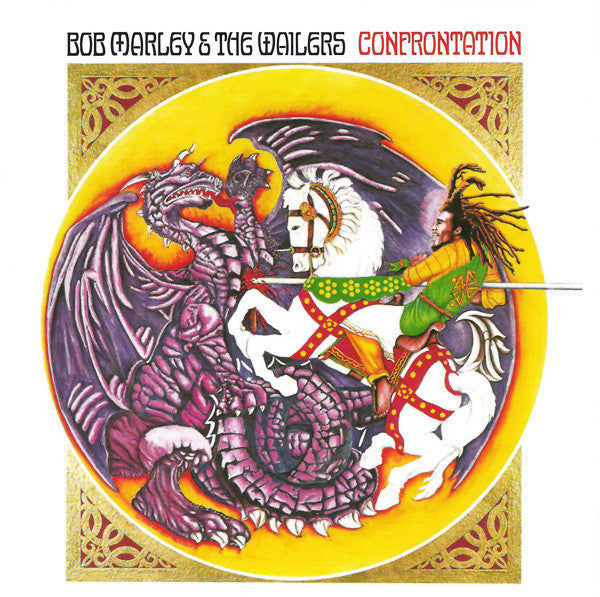 Bob Marley & The Wailers - Confrontation LP Abbey Road Half Speed Mastering