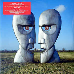 Pink Floyd - The Division Bell 2LP 25th Anniversary Blue Vinyl