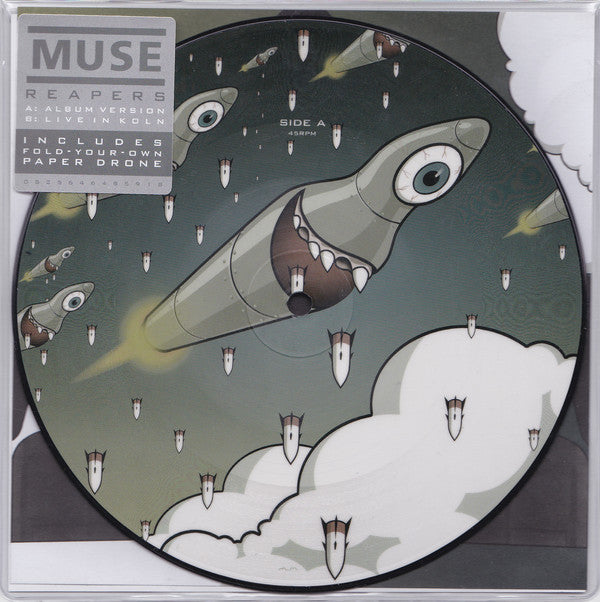 "Muse - Reapers 7"" (Picture Disc) RSD Exclusive"