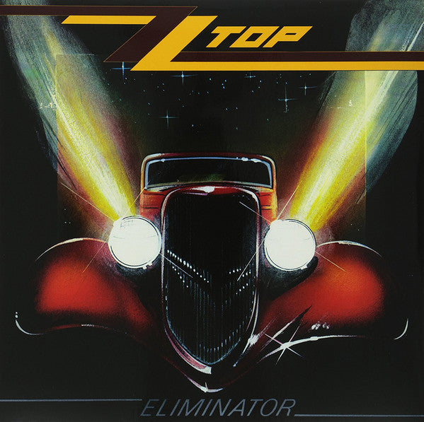 ZZ Top - Eliminator LP (Red Vinyl)