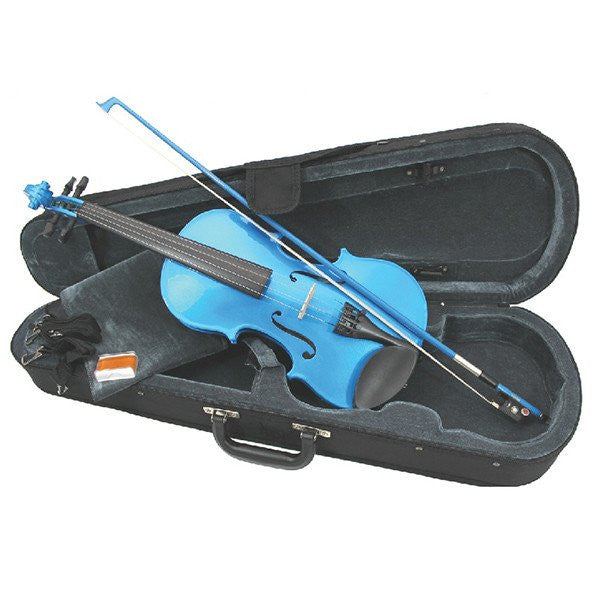 Rainbow Fantasia Violin Blue 3/4 Size Outfit