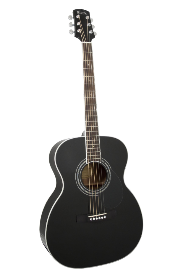 Adam Black 05 Black Acoustic Guitar