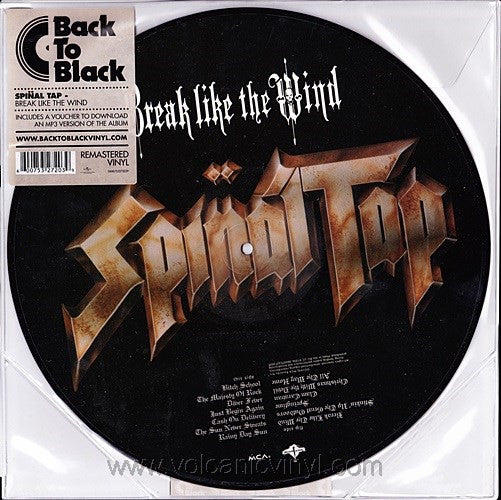 Spinal Tap - Break Like The Wind LP Picture Disc