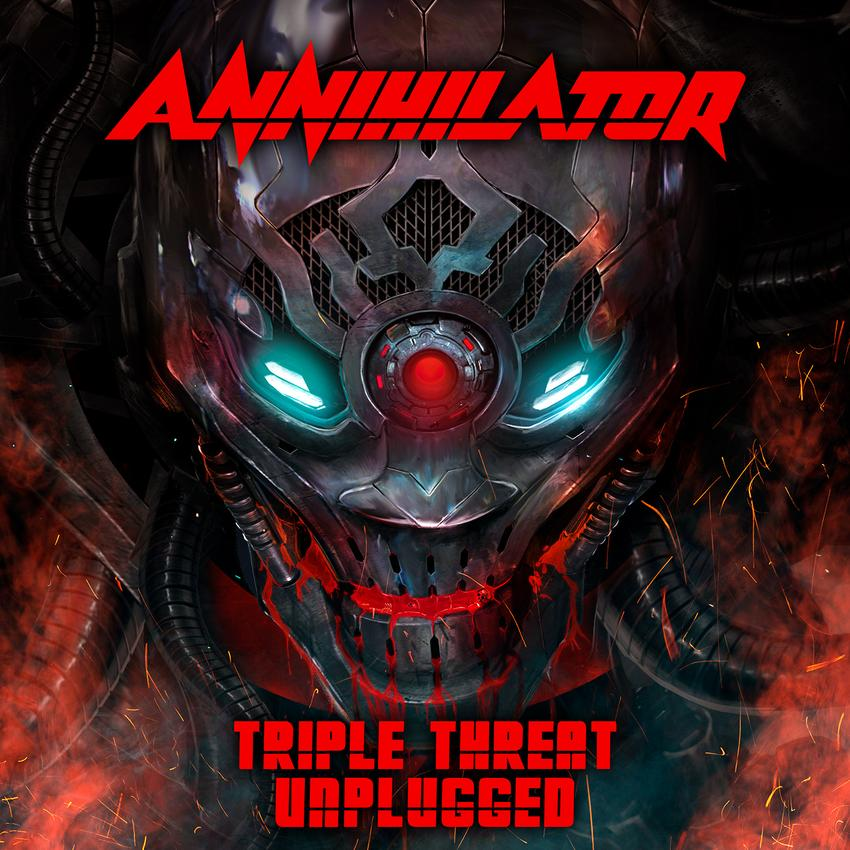 Annihiltaor - Triple Threat Unplugged LP RSD 2020 Exclusive
