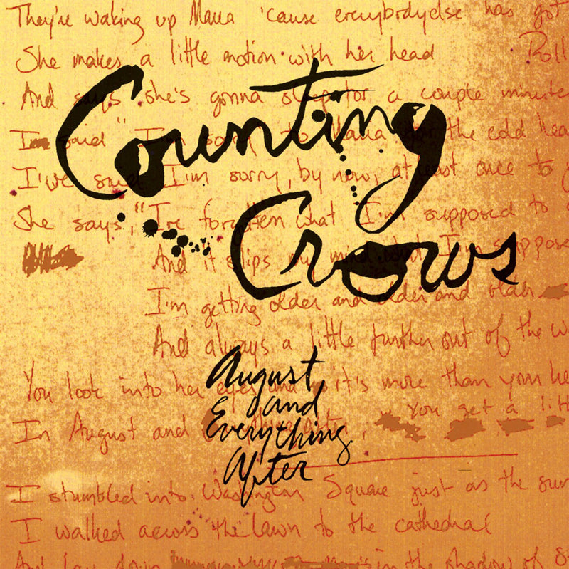 Counting Crows - August & Everything After CD