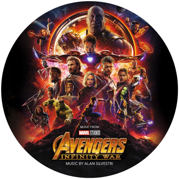 Alan Silvestri ‎– Avengers: Infinity War OST LP Picture Disc