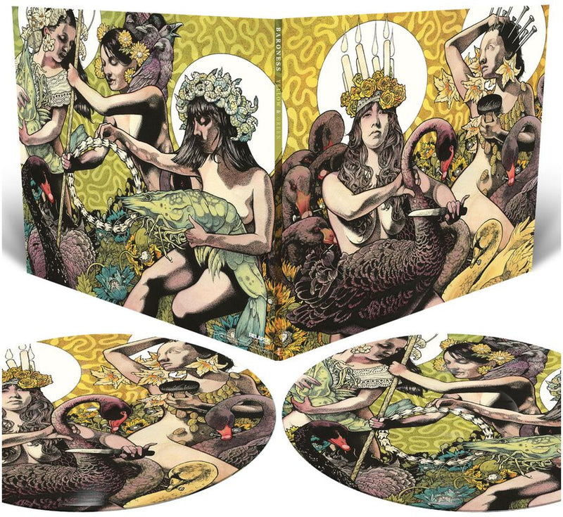 Baroness - Yellow And Green Album 2LP LTD Picture Discs