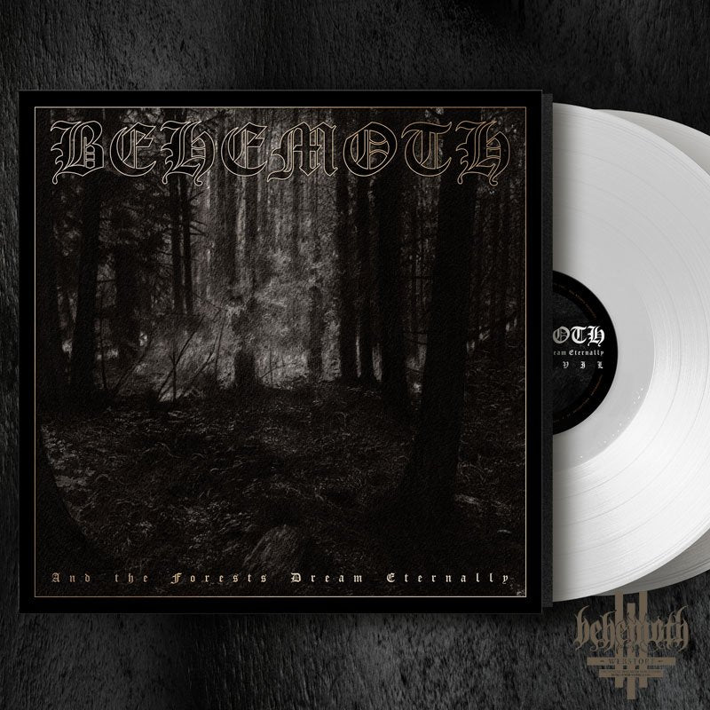Behemoth - And The Forests Dream Eternally 2LP LTD White Vinyl
