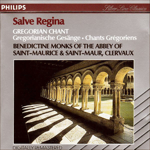 Benedictine Monks Of The Abbey Of Saint-Maurice & Saint-Maur - Salve Regina Gregorian Chant CD