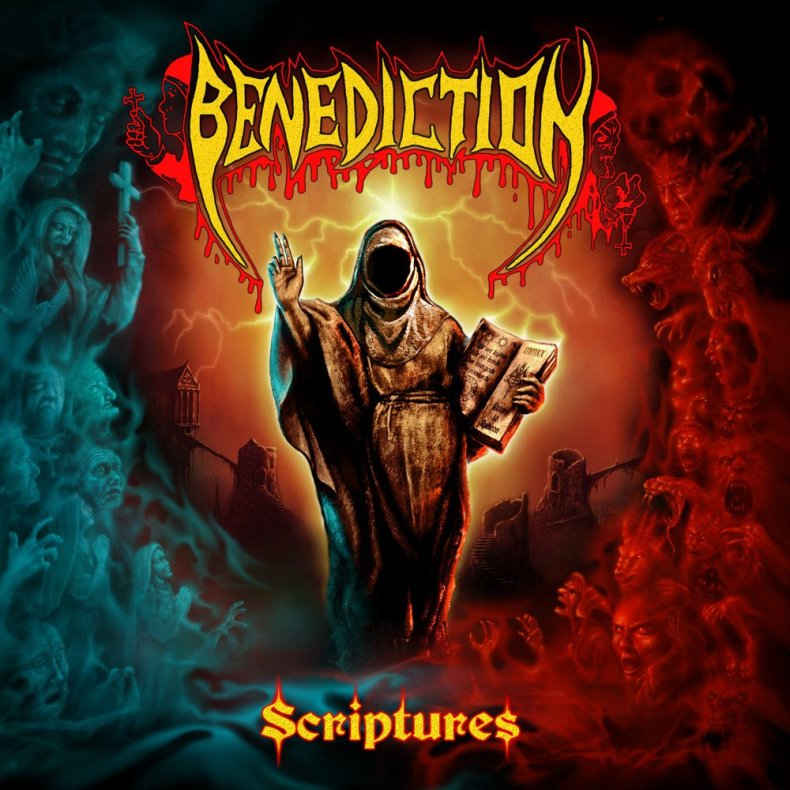 Benediction ‎– Scriptures 2LP