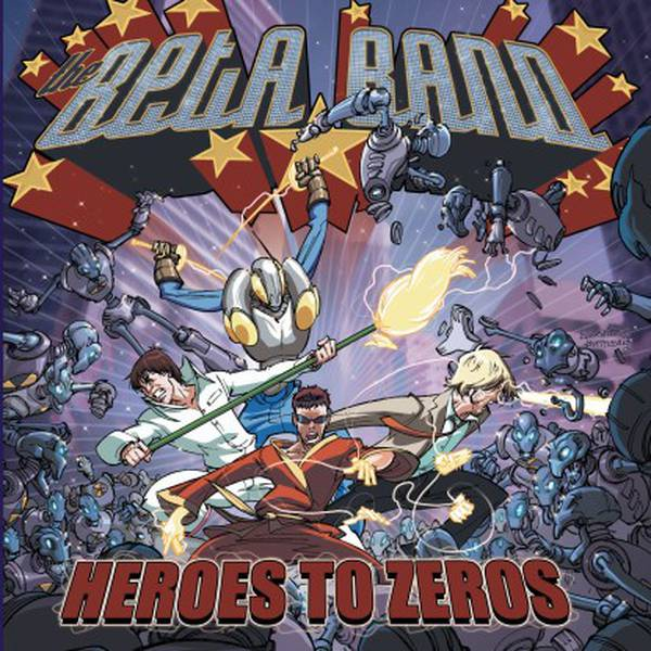 Beta Band - Heroes To Zeros LP LTD Purple Vinyl w/ CD