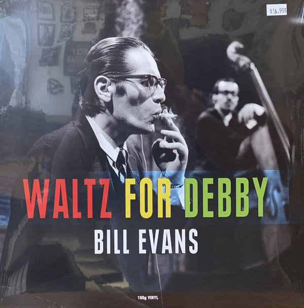 Bill Evans Trio W/ Scott LaFaro & Paul Motian ‎– Waltz For Debby LP