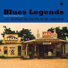 Various ‎Artists – Blues Legends - Classics By The Blues Pioneers
