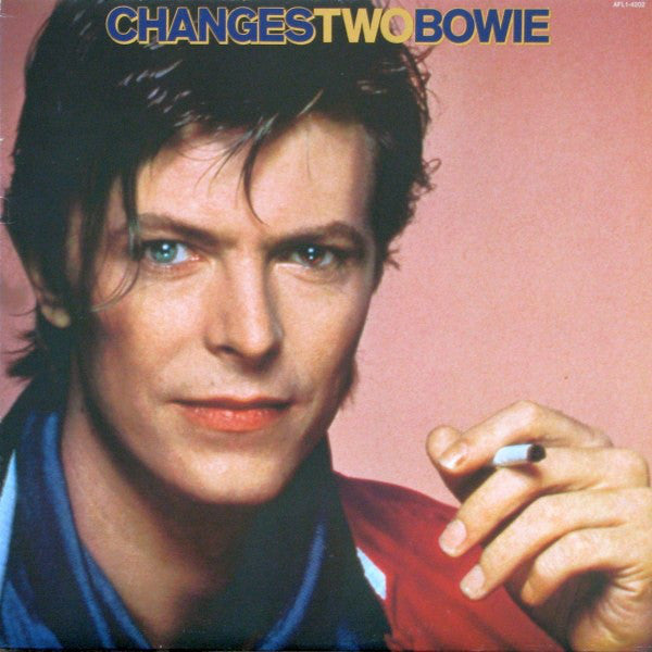 David Bowie ‎– ChangesTwoBowie LP LTD Black & Blue Coloured Vinyl