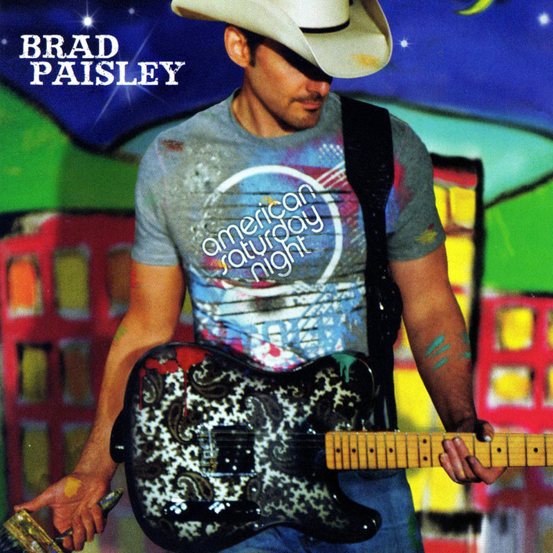 Brad Paisley - American Saturday Night CD