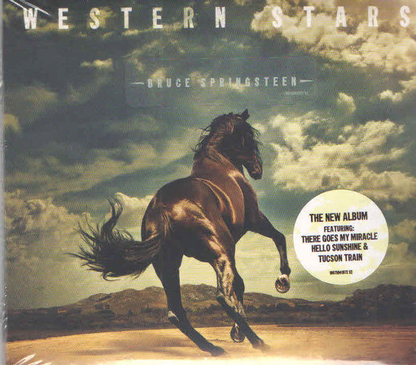 Bruce Springsteen ‎– Western Stars 2LP LTD Blue Coloured Vinyl