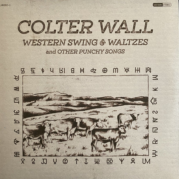 Colter Wall - Western Swing & Waltzes & Other Punch Songs LP LTD Natural Uncoloured Vinyl