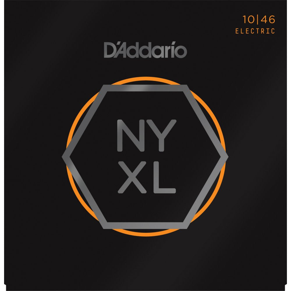 D'Addario NYXL1046 Regular Light Nickel Wound Electric Guitar Strings (10-46)
