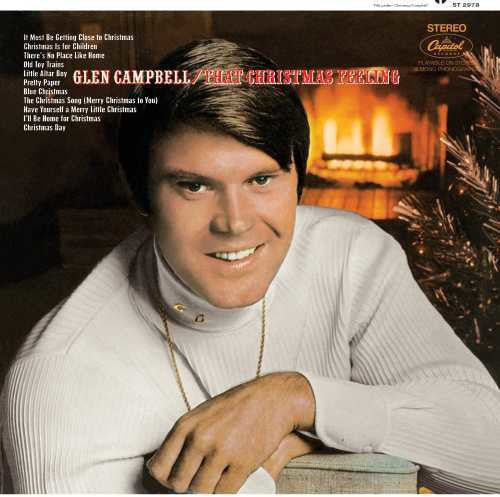 Glen Campbell ‎– That Christmas Feeling LP