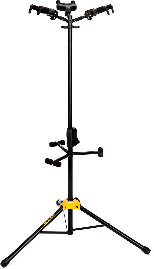 Hercules GS432B (AGS) TRIPLE GUITAR STAND, FOLDABLE BACKREST