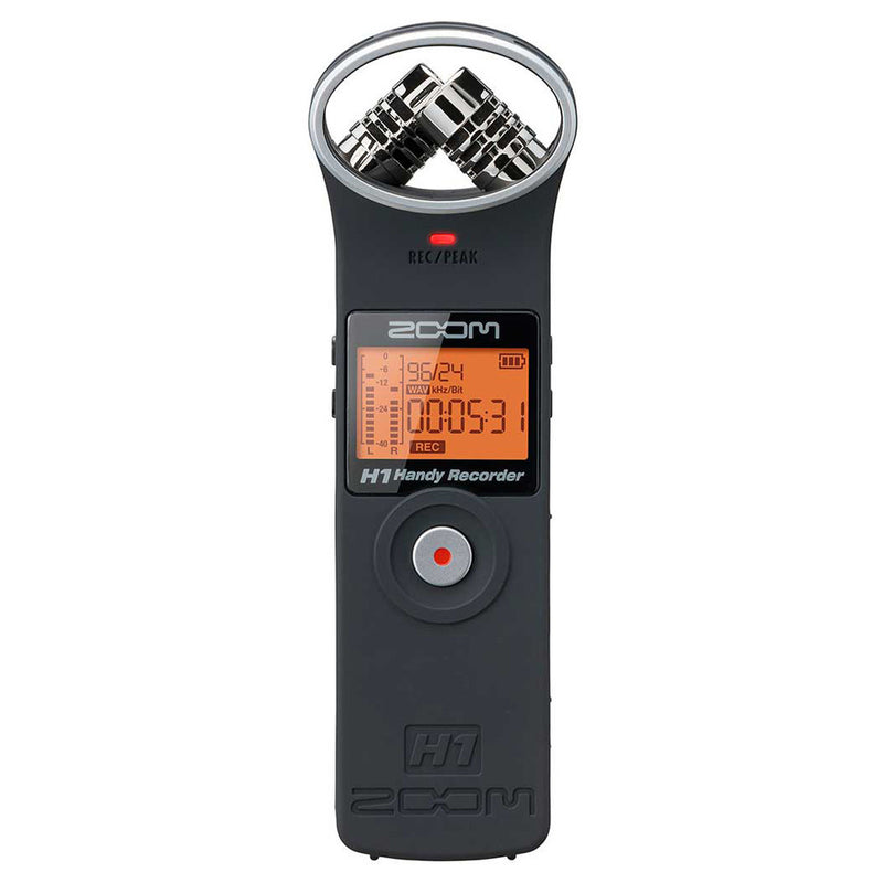 Zoom H1 Recorder, Matt Black