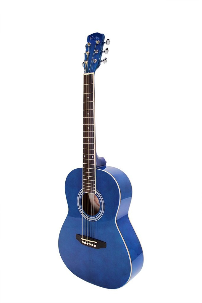 Koda 3/4 Acoustic Guitar Blue PACK