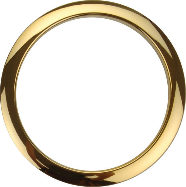 "Bass Drum O's 5"" Brass Round"