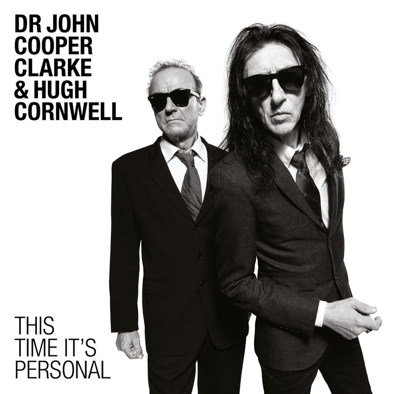 Dr John Cooper Clarke & Hugh Cornwell - This Time It's Personal CD