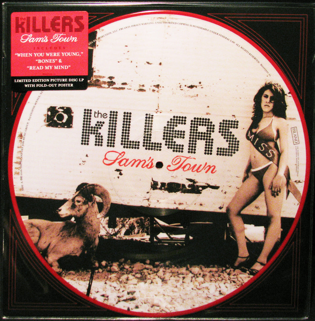 Killers - Sam's Town LP (Picture Disc)