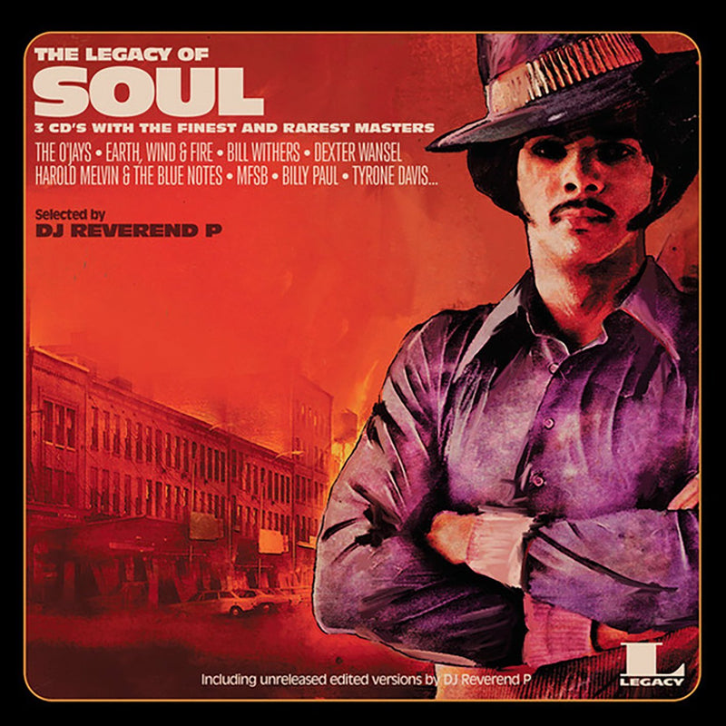 Various Artists - Legacy Of Soul LP