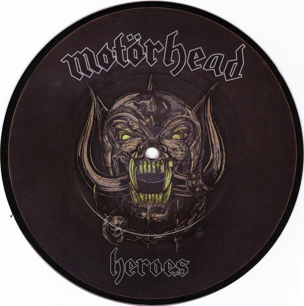 "Motörhead - Heroes 7"" RSD 2018 Picture Disc Heavyweight Vinyl"