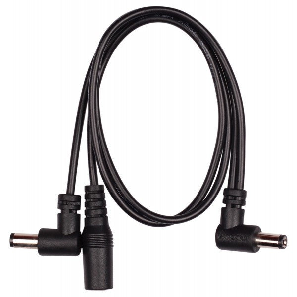 Mooer PDC-2A 2 Plug Multi DC Power Cable (Angled)