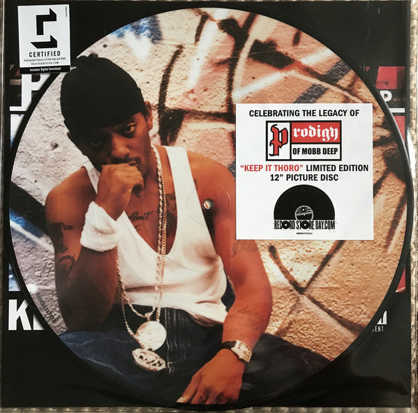 "Prodigy ‎– Keep It Thoro 12"" Picture Disc"