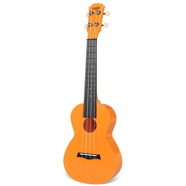 Korala PUC-20 Polycarbonate Ukulele - Orange