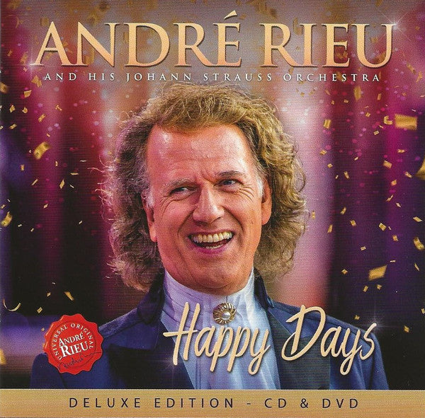 Andre Rieu - Happy Days CD/DVD