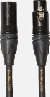 Roland RMC-G10 Gold Series Microphone Cable 10ft/3m